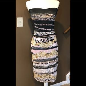 VENUS STRAPLESS BODYCON DRESS